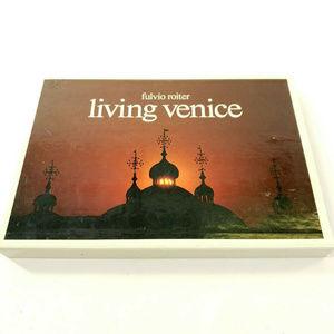 Living in Venice Hardcover Art Photo Book w/ Case